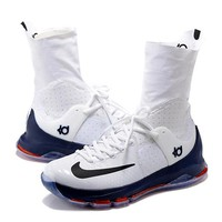 """2017 Nike  Zoom  KD 8 Kevin Durant  Ⅷ   """"Playoffs"""" Men's    Basketball Shoes"""