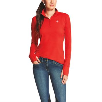 Ariat® Ladies' Lowell 1/4 Zip Top