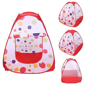 Baby Play Tent Child Kids Indoor Outdoor House Portable Ocean Balls Great Gift Games Play without Ball