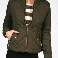 Piper Jacket | Olive