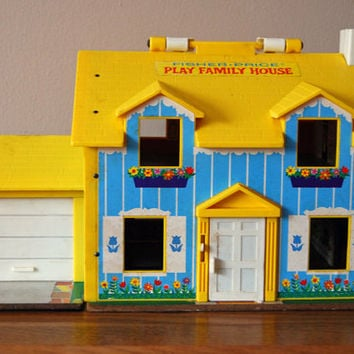 Fisher Price Little People House 1969