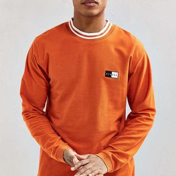 Stussy Reverse Terry Ringer Long Sleeve Tee - Urban Outfitters
