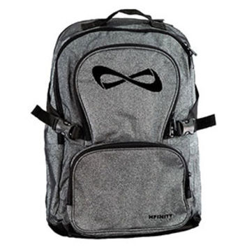 Nfinity Sparkle Backpack - Grey/Black with FREE Bag Tag!
