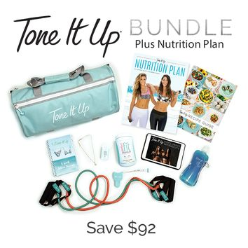 Tone It Up Bundle plus Nutrition Plan