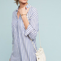Noso Striped Shirtdress