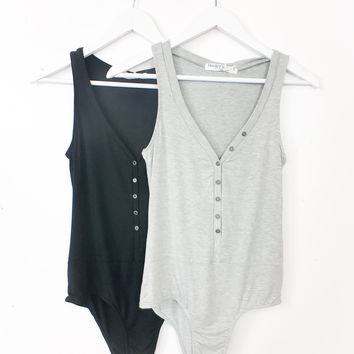 Button Me Down Bodysuit