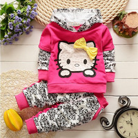 baby girl clothes family clothing set hello kitty babymmclothes kids clothes  girl's sets conjunto menina toddler kitti