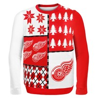 Detroit Red Wings - Busy Block Ugly Sweater