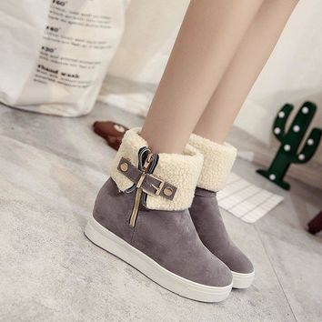 Hot Deal On Sale Cotton Shoes Casual Fashion Boots [47584509959]