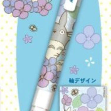 Kurutoga Sharp Pencil, Totoro / Totoro /Hydrangea Design (STUDIO GHIBLI) import from Japan