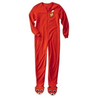 Nick & Nora® Women's Fox Footie Pajama - Red