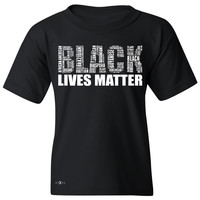 Black Lives Matter Youth T-shirt Freedom Civil Rights Political Tee