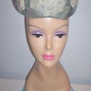 Vintage Women's Marche' Exclusive Millinery Dress Hat Size 21.5 Spring Summer