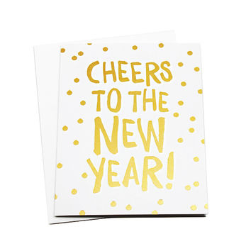 Cheers New Year Card
