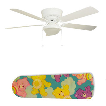 "Care Bears Clouds 52"" Ceiling Fan and Lamp"