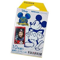 Fujifilm Instax Mini Film for Instant Mini 7S Instax Mini 8 Instant Mini 25 Instax Mini 50S Instant Mini 90 Film Camera - Mickey Mouse 90th Anniversary, 10 Sheets
