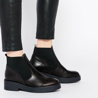 ASOS AIRLOCK Leather Chelsea Boots