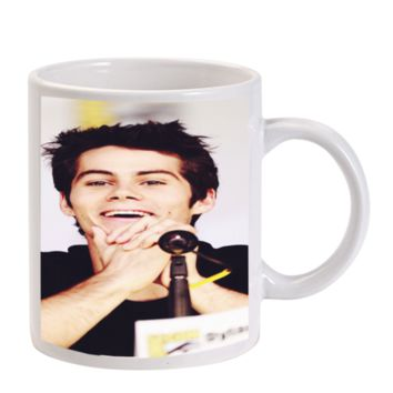 Gift Mugs | Dylan Obrien Face Smiley Ceramic Coffee Mugs
