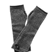Cory Cashmere Gloves in Charcoal