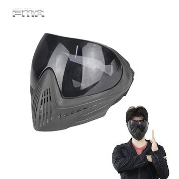 Tactical FMA F1 Goggle Full Face Mask Airsoft Anti-fog Protective Eyewear Outdoor Ski Glasses Gear Safety Guard Face Mask