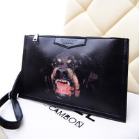 Lady Handbag Personality 2017 The New Trend of Korean Cartoon Printed Bag Envelopes Are Single Shoulder Bag Hand Bag B83 30