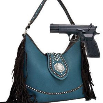 Western: Fringed Western Hobo Bag