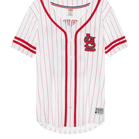 St. Louis Cardinals Button Down Jersey - PINK - Victoria's Secret