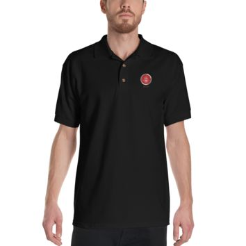 Inkosi Luxury Embroidered Polo Shirt