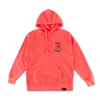 8-Ball Hoodie in Neon Red Orange – Pink+Dolphin