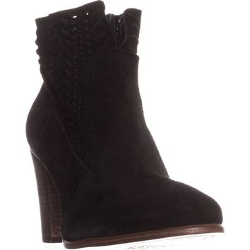 Vince Camuto Fenyia Ankle Boots, Black, 8.5 US / 38.5 EU