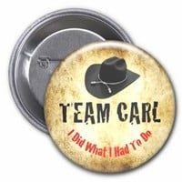 The Walking Dead Team Carl Grimes 2.25 Inch Pinback Button
