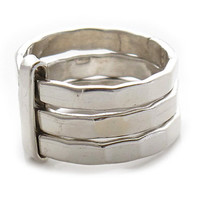 """Sterling Silver Rings   """"Long Weekend""""   Silver Rings for Women   Silver Jewelry   925   Handcrafted   Sterling Silver Rings Shop   0180"""