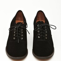 Ernie Oxford - Black Suede