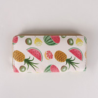 Vegan Leather Fruit Salad Wallet
