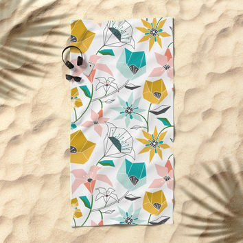 Calliope Beach Towel by Heather Dutton