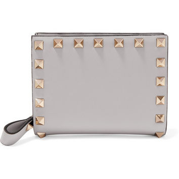 Valentino - The Rockstud leather wallet