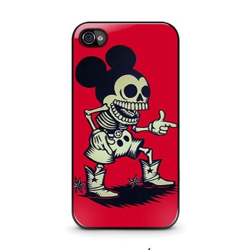 MICKEY MOUSE ZOMBIE Disney iPhone 4 / 4S Case Cover