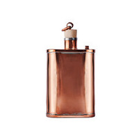 Handmade Copper Flask (Cork top)