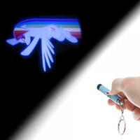 My Little Pony Rainbow Dash Logo Projection Flashlight Keychain