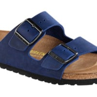 Arizona Twilight Blue Oiled Leather Sandals | Birkenstock USA Official Site