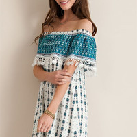 South of the Border Dress - Jade