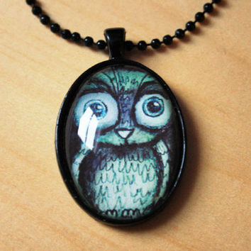 Owl // necklace
