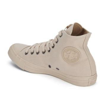 Converse Men's Chuck Taylor All Star Monochrome Hi-Top Trainers - Tan Sand
