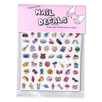 Sara M. Lyons Sweet & Creepy Nail Decals