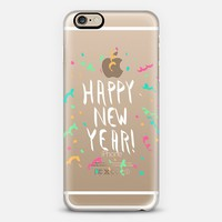Happy New Year! Confetti (transparent) iPhone 6s case by Lisa Argyropoulos | Casetify