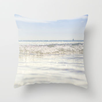 Refrigerator Throw Pillow by HappyMelvin