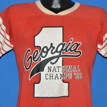 80s Georgia Bulldogs National Champions t-shirt Small