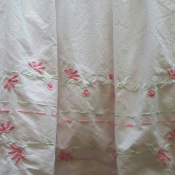 #**  #Bedskirt Dust Ruffle #Pottery Barn Kids Full Size Discontinued