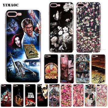 YIMAOC The Evil Dead Soft Silicone Case for iPhone XS Max XR X 8 7 6 6S Plus 5 5s se