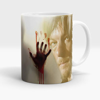 The Walking Dead Mug, Daryl Dixon Coffee - Tea Cup, Gift for the Walking Dead lovers, TWD, Norman Reedus Mug